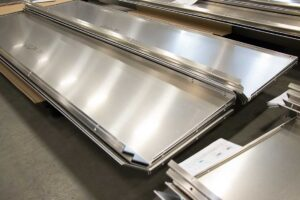 Safety guard fabrication enhances worker protection